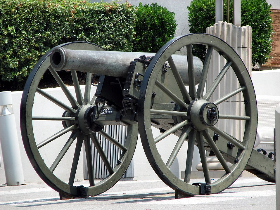 Civil War cannon : Free Stock Photo