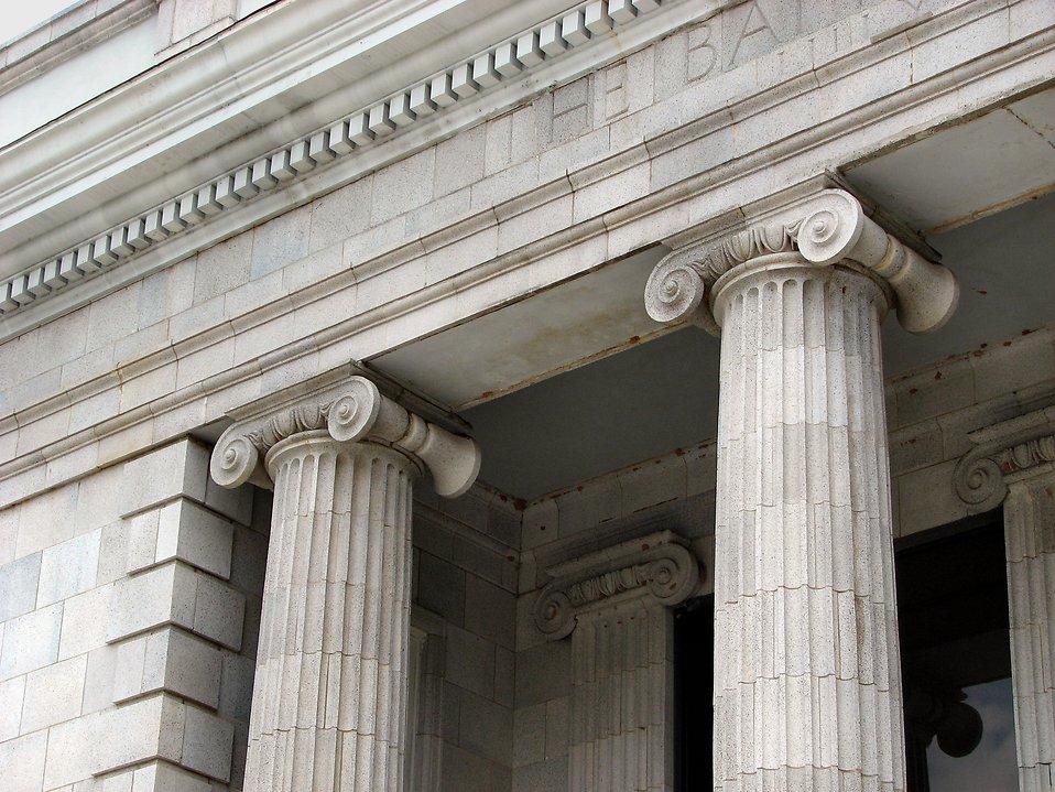 Bank style bulding : Free Stock Photo