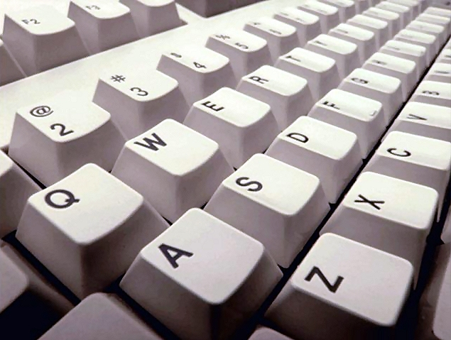 Keyboard closeup : Free Stock Photo