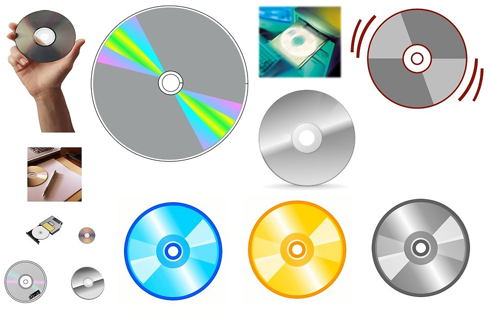 Various compact discs : Free Stock Photo