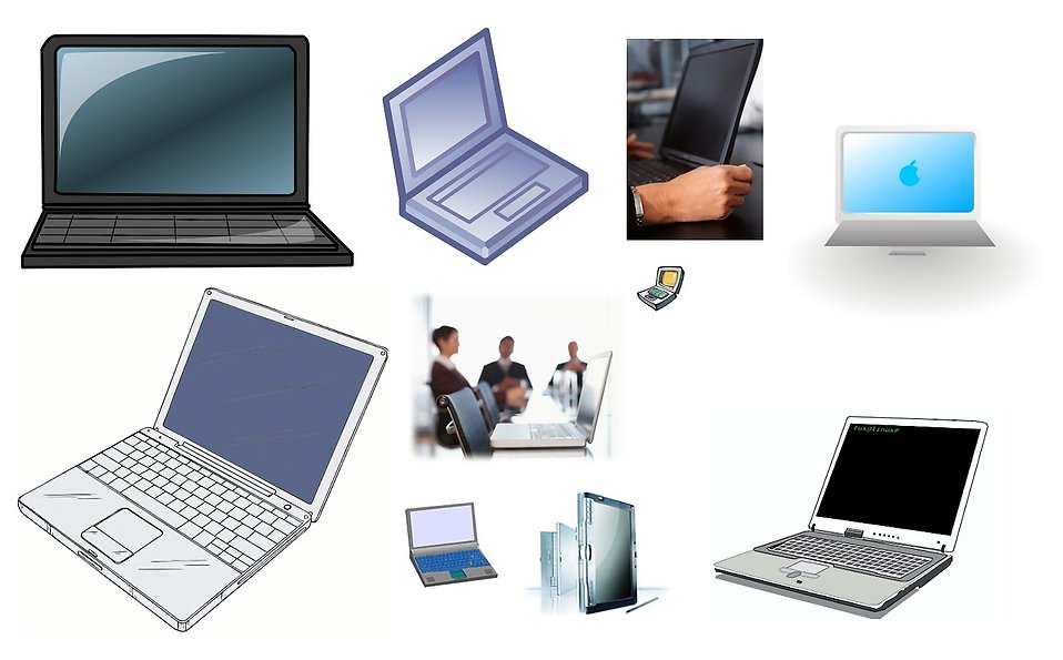 Various laptops : Free Stock Photo