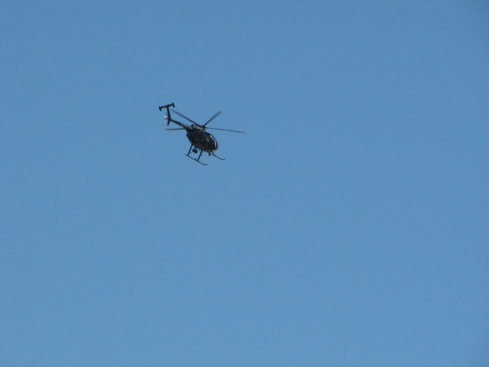 Police helicopter : Free Stock Photo