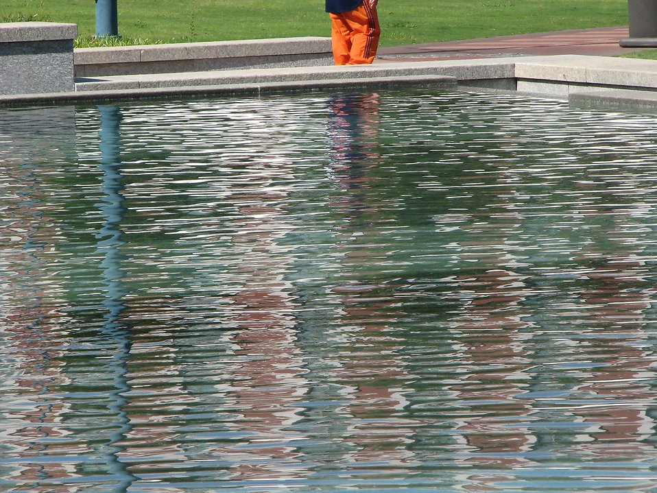 Pool at Olympic Park : Free Stock Photo