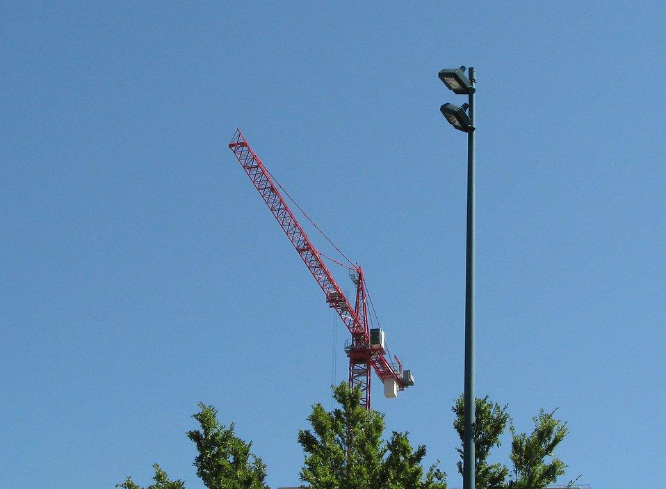Construction crane : Free Stock Photo