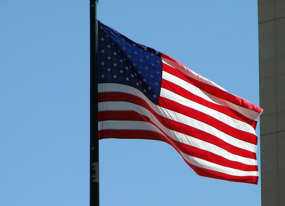 US flag : Free Stock Photo