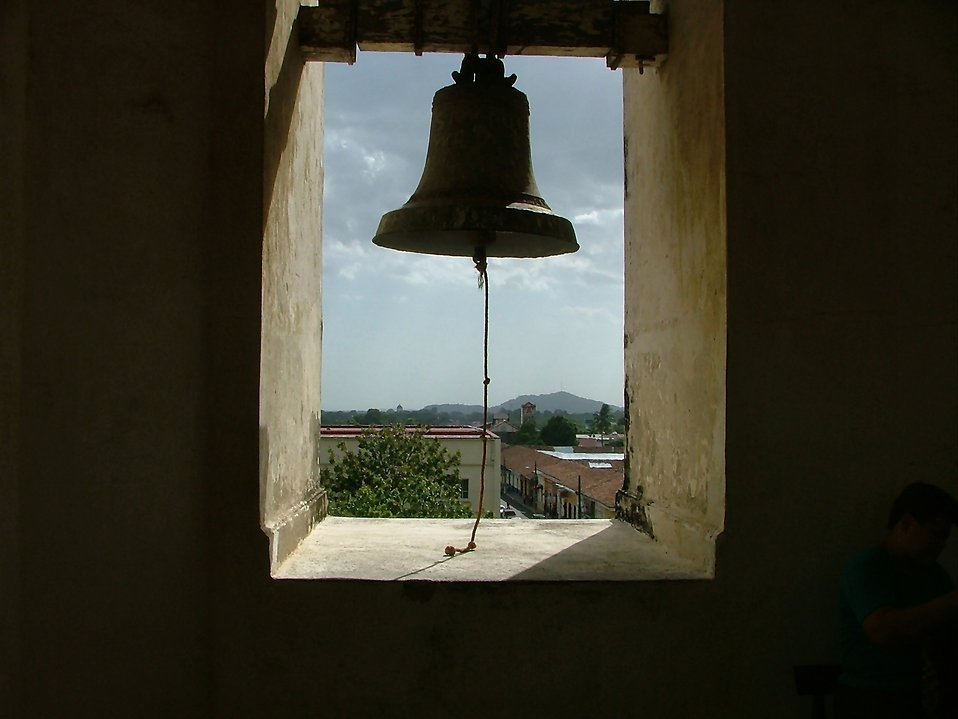 Silhouette of a bell : Free Stock Photo