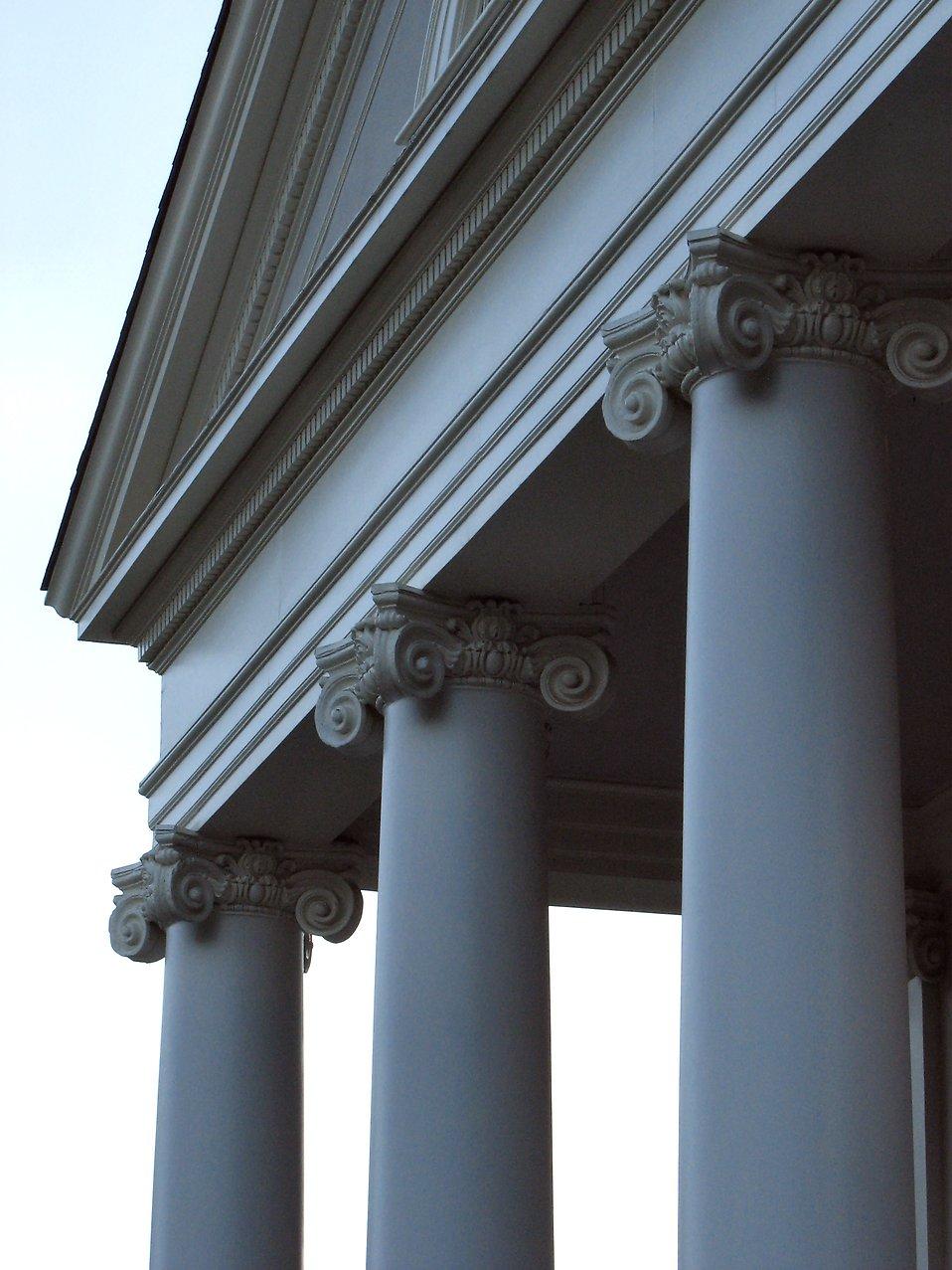 Closeup of a church : Free Stock Photo