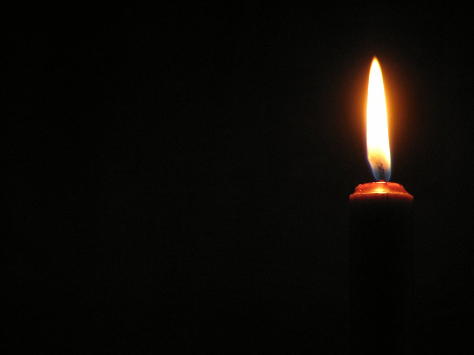 Red candle closeup : Free Stock Photo