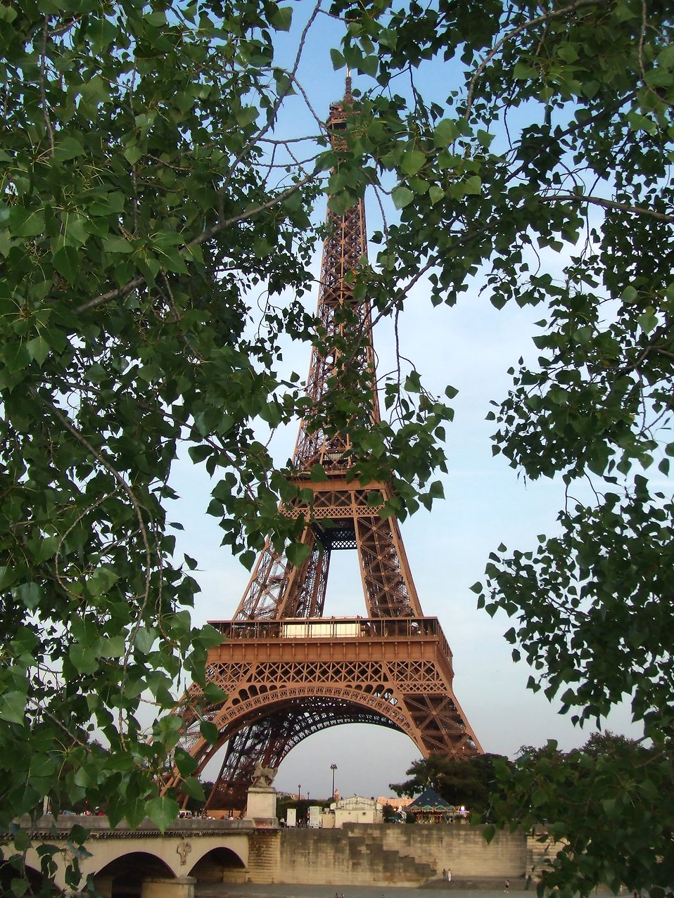 The Eiffel Tower : Free Stock Photo