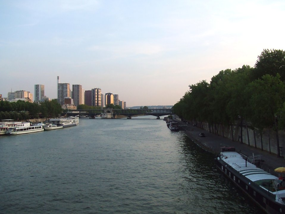 The Seine in Paris : Free Stock Photo