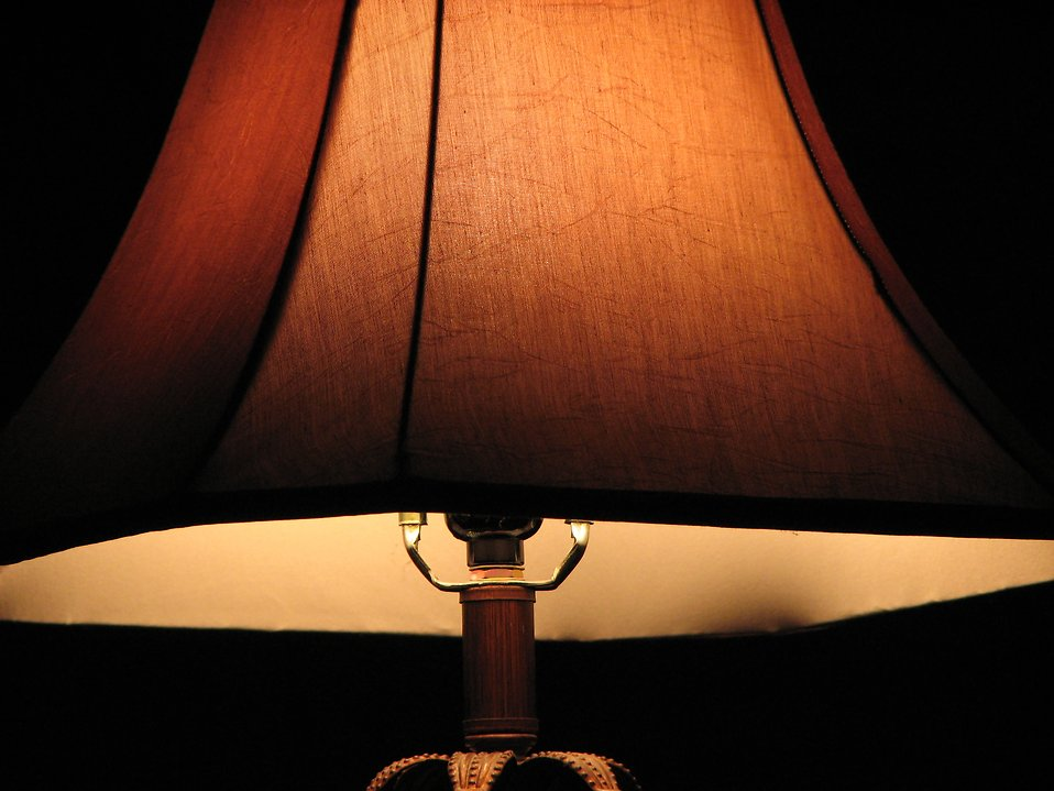 A lamp and shade : Free Stock Photo