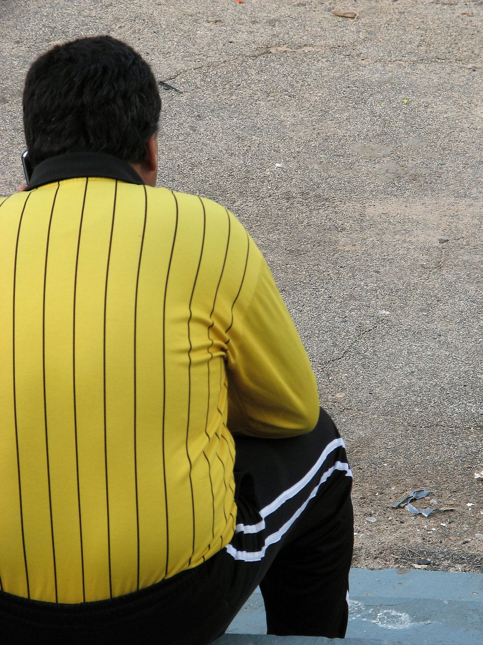 Soccer referee : Free Stock Photo