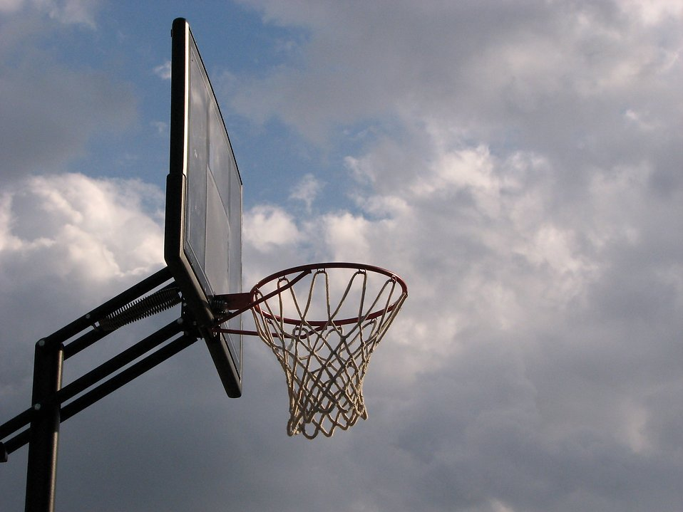 Basketball | Free Stock Photo | Outdoor basketball hoop ...