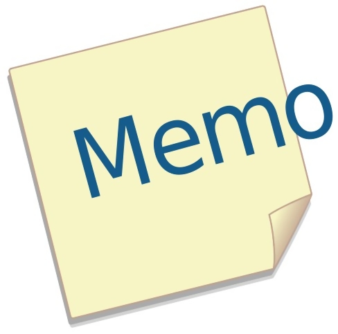 Memo illustration : Free Stock Photo