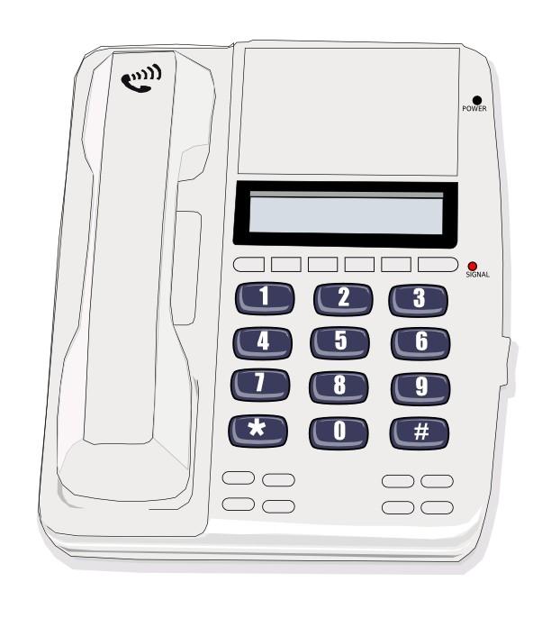 White telephone illustration : Free Stock Photo