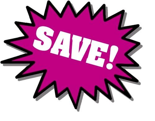 Purple Save stickers : Free Stock Photo