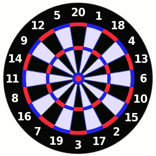 Dartboard illustration : Free Stock Photo