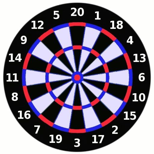 Dartboard illustration : Free Stock Photo