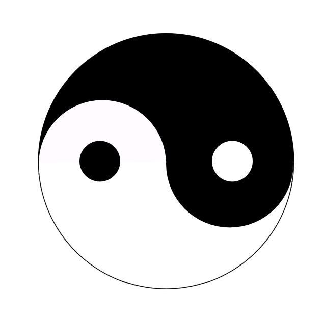 Yin-Yang symbol illustration : Free Stock Photo