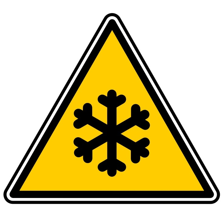 Snow warning illustration : Free Stock Photo