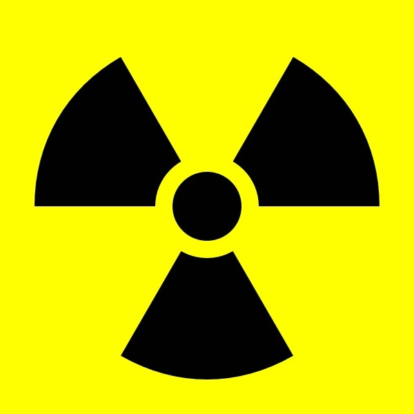 Radiation warning illustration : Free Stock Photo