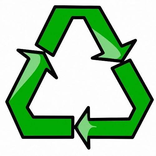 Recycle symbol illustration : Free Stock Photo