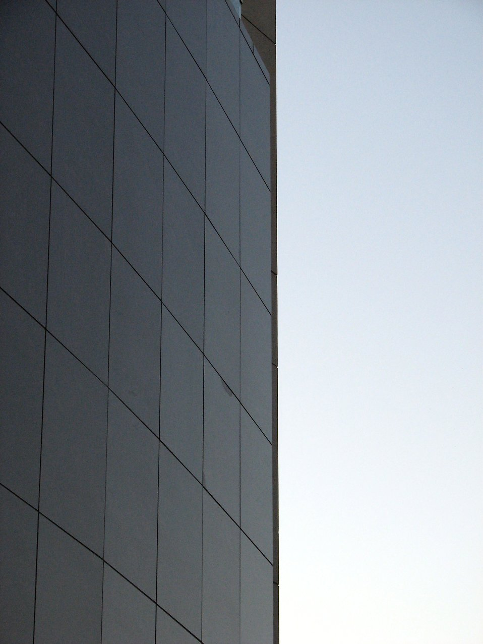Side of a modern building : Free Stock Photo