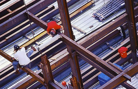 Men at a construction site : Free Stock Photo