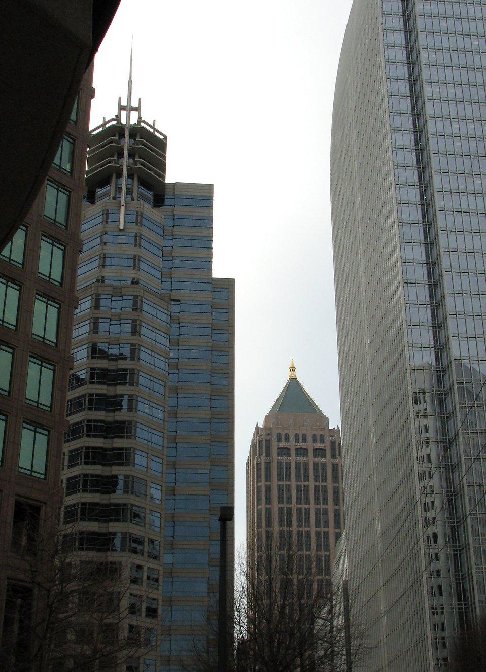 Tall buildings in Atlanta, Georgia : Free Stock Photo