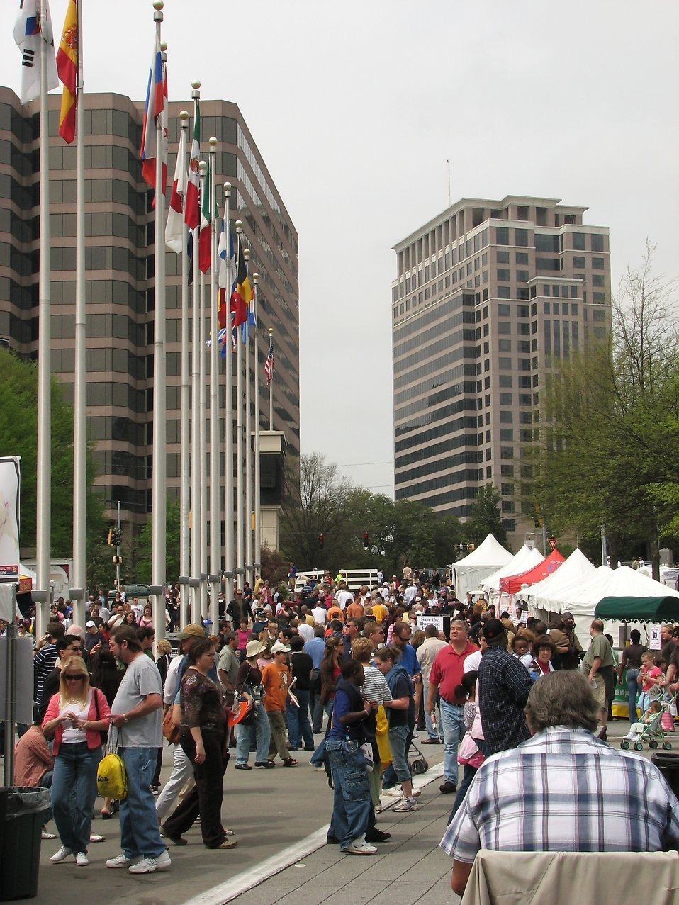 Crowds at downtown festival : Free Stock Photo