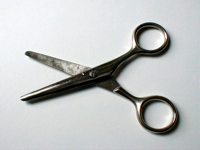 Worn rusty scissors : Free Stock Photo