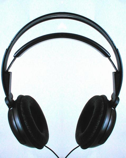 Pair of music headphones : Free Stock Photo
