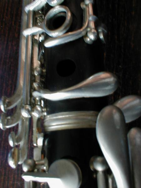 Closeup of saxophone keys : Free Stock Photo