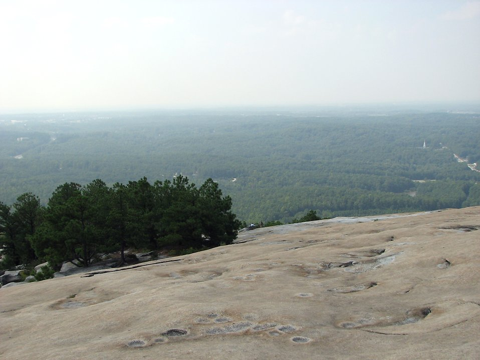 View from the top of Stone Mountain : Free Stock Photo