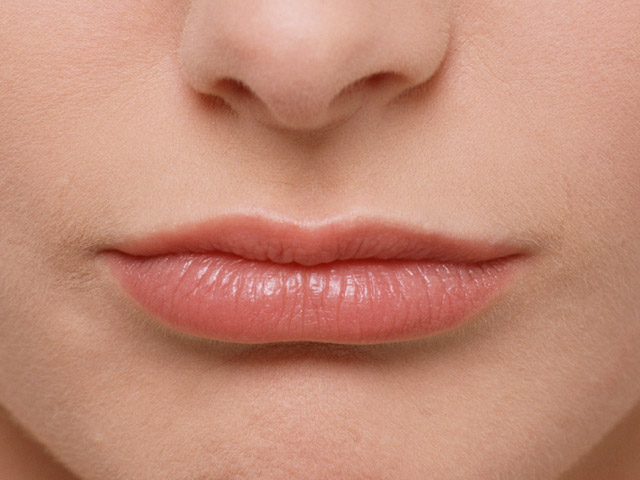 Close-up of a woman's mouth and lips : Free Stock Photo