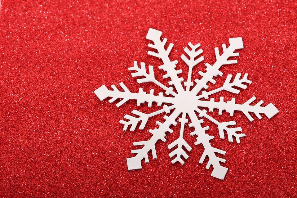 A snowflake background : Free Stock Photo