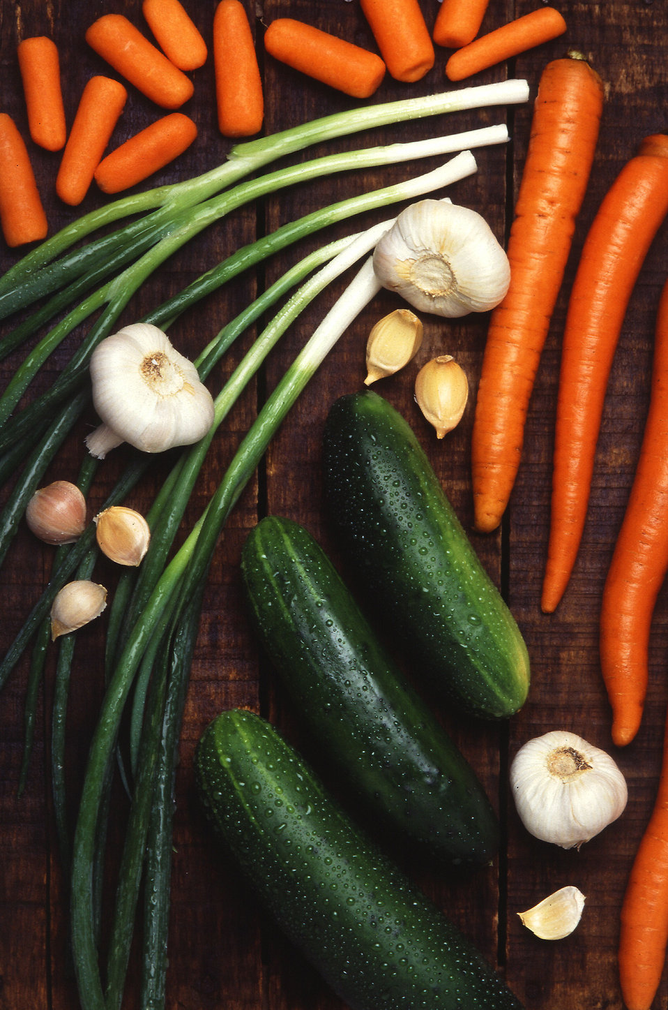 A display of mixed vegetables : Free Stock Photo