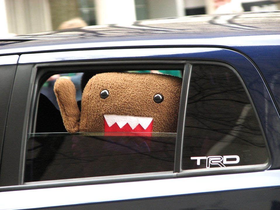Domo-kun in the 2010 Saint Patricks Day Parade in Atlanta, Georgia : Free Stock Photo