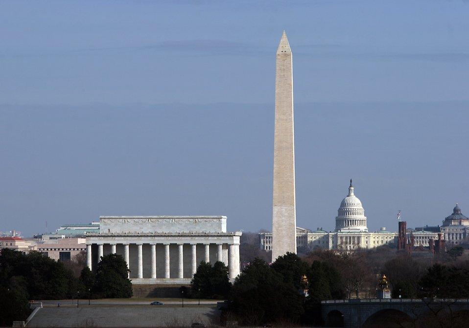 National monuments in Washington, DC : Free Stock Photo