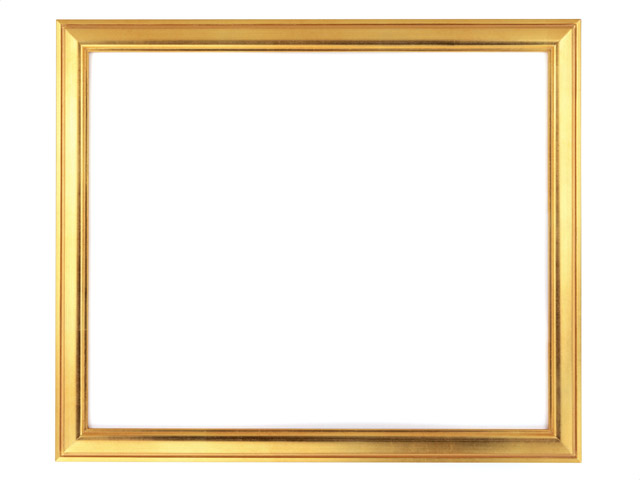 Picture Frame Border | Free Stock Photo | A blank picture frame ...