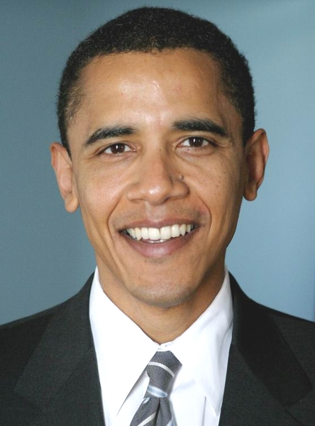 Congressional portrait of President Barack Obama.
