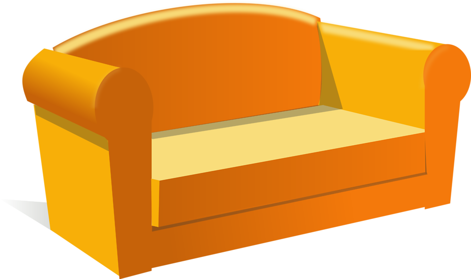 Illustration of a sofa : Free Stock Photo