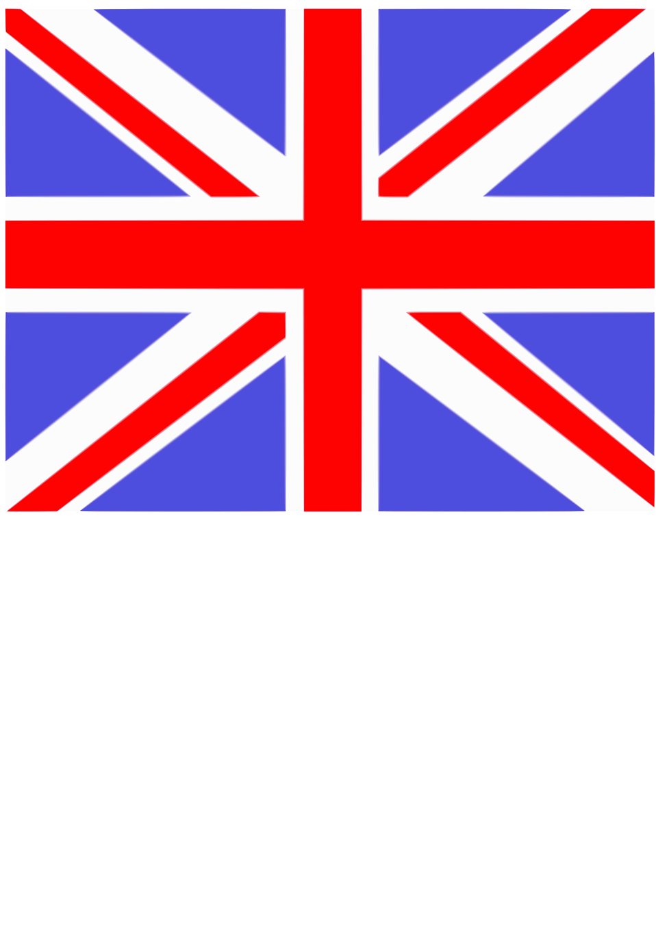 Illustration of a UK flag : Free Stock Photo