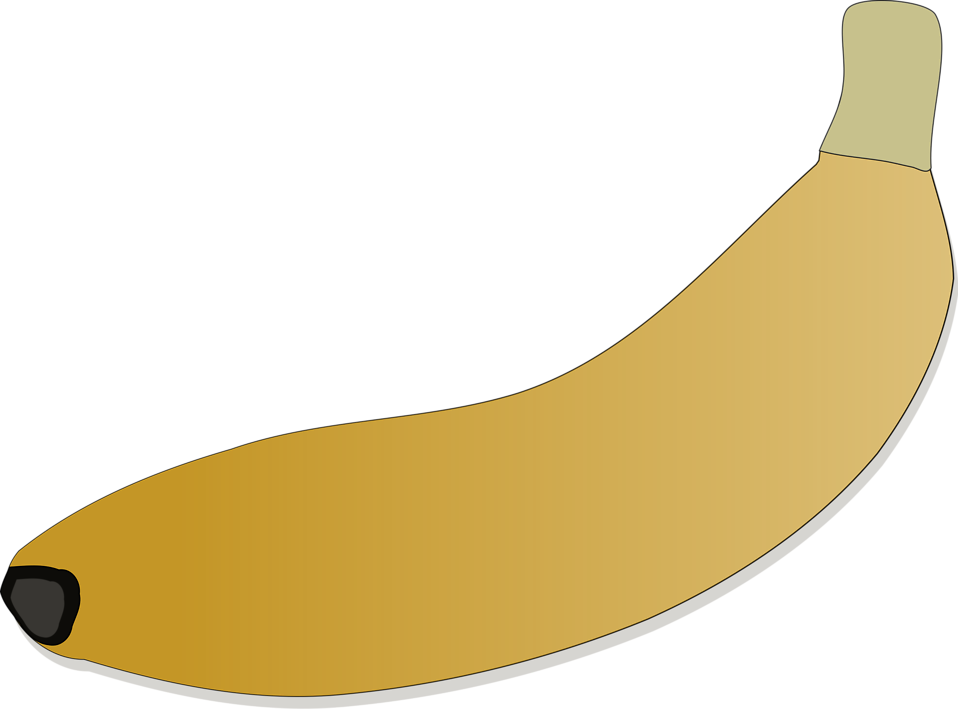 Illustration of a banana : Free Stock Photo