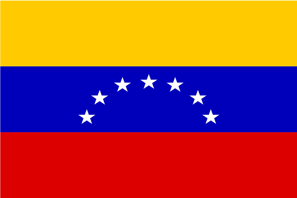 Illustration of a flag of Venezuela : Free Stock Photo
