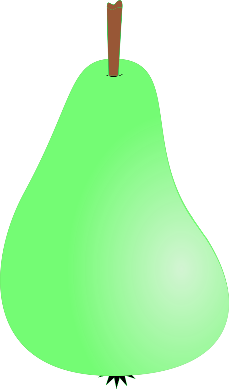 Illustration of a pear : Free Stock Photo