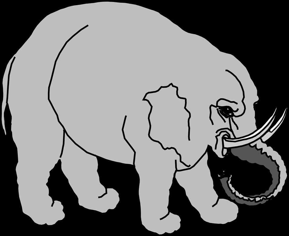 Illustration of an elephant : Free Stock Photo