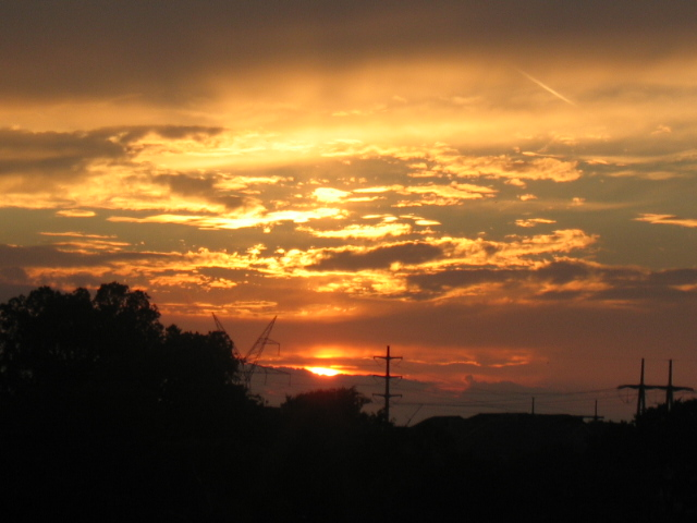 A beautiful sunset : Free Stock Photo
