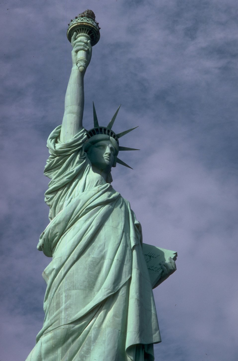 The Statue of Liberty monument : Free Stock Photo