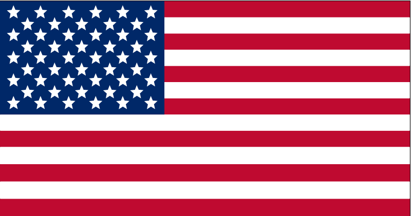 Illustration of a flag of the United States.